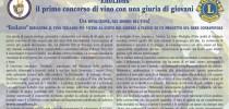 """Distretto Toscana, al via il concorso """"EnoLions 2014"""""""