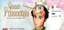 """Ecco """"Quasi Pinocchio"""", uno spettacolo e un progetto"""