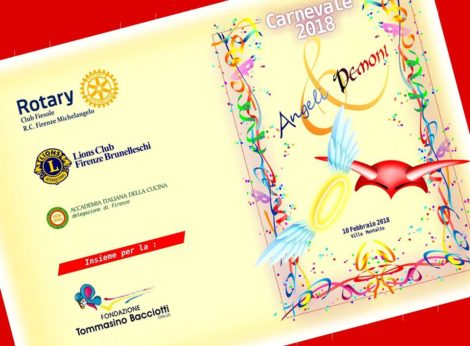 Lions Club Brunelleschi, la Festa di Carnevale