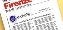 Il Lions Club Brunelleschi su La Nazione