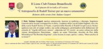"""02 Dicembre 2019: Dott. Stefano Gasperi  """"L'Antroposofia di Rudolf Steiner per un nuovo umanesimo"""""""